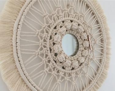 miroir macramé- Atelier Paloma 3
